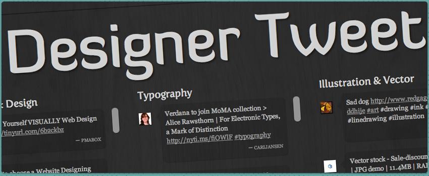 Designer Tweet